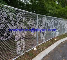 China Chain Link Fence With Special Design China Link Fence Drawing Fence