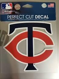 Minnesota Twins 6x6perfect Cut Car Decal New Mlb Auto Sticker Emblem 32085180612 Ebay
