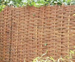 Willow Hurdles And Panels For Garden Screening Avs Fencing Esi External Works