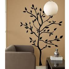 New Roommates Xl Giant 60 Wall Decals Black Tree Branches Leaves Mural Stickers For Sale Online