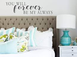 Amazon Com Story Of Home Llc You Will Forever Be My Always Wall Decal Bedroom Wall Decal Bedroom Vinyl Wall Decal Bedroom Wall Sticker Vinyl Wall Decal Home Kitchen