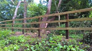 Kiwi Fencing On Twitter Post And Rail Fencing With Netting Pressure Treated Creosote Posts And C4 Treated Rails