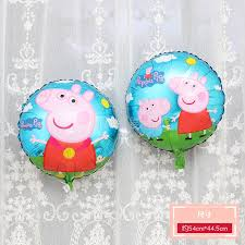 Pink Piggy Girl * Peggy George Cartoon Aluminum Membrane Balloon Child Baby  Birthday Party Decoration - Buy Pink Piggy Girl * Peggy George Cartoon  Aluminum Membrane Balloon Child Baby Birthday Party Decoration