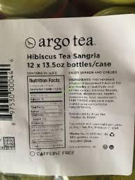 argo tea hibiscus sangria 12 13 5 ounce