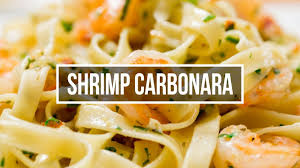 Shrimp Carbonara - YouTube