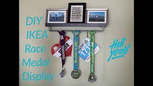 diy ikea race medal display you