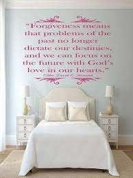 Christian Quotes Wall Decals Forgiveness Vinyl Decor Customvinyldecor Com