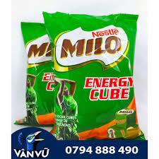 Combo 2 Bịch Kẹo Milo Cube 100 Viên Chính Hãng Thái Lan Energy ...