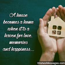 new house opening wishes