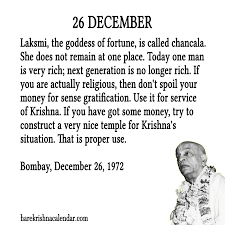hare krishna calendar