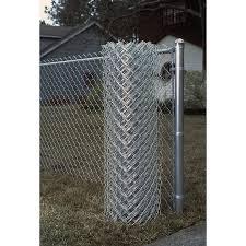 4 Ft H X 50 Ft L 9 Gauge Galvanized Steel Chain Link Fence Fabric In The Chain Link Fence Fabric Department At Lowes Com