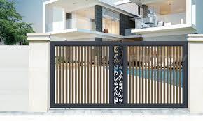 Aluminium Slat Fence Gates Fonnov Aluminium China