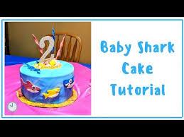 baby shark cake tutorial stuff moms