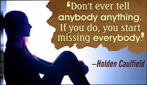 holden caulfield quotes
