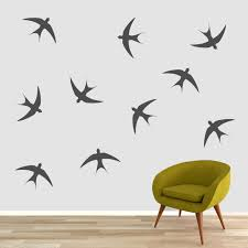 Swallow Birds Wall Decal Set Sweetums Signatures