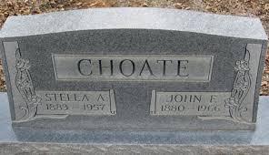 "John Franklin ""Frank"" Choate (1880-1966) - Find A Grave Memorial"