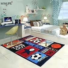 kids rugs cartoon boys bedroom