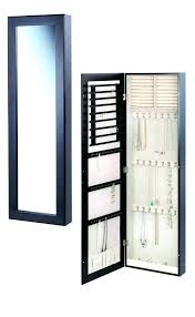 wall jewelry cabinets
