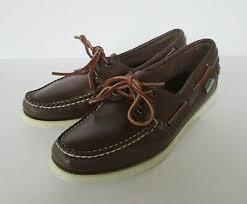 sebago docksides womens classic brown