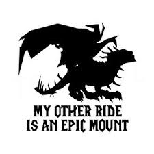6 5 Epic Mount Vinyl Decal Sticker Car Window Laptop World Of Warcraft Mmorpg Ebay
