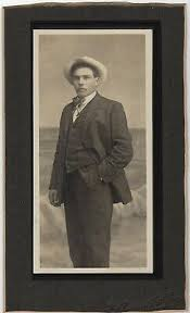 """CABINET PHOTO TALL HANDSOME MAN HAT - ID NESTOR LIND 4 1/2"""" W BY 7 1/2"""" H    eBay"""