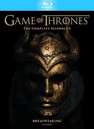 thrones season 1 5 slimline blu ray
