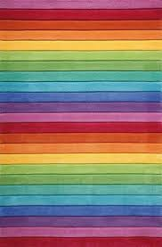 Smart Stripe Rugs From The Smart Kids Collection By Weconhome Features Vibrant Rainbow Of Multi Coloured Strip Rainbow Girls Room Rainbow Rug Rainbow Room Kids