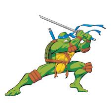 Teenage Mutant Ninja Turtles Blue Die Cut Vinyl Decal St