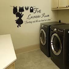 Laundry Room Wall Sticker Inspired Saying Washroom Family Room Vinyl Mural Decor In 2020 Laundry Room Quotes Laundry Room Decals Laundry Room