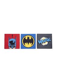 3 Piece Batman Wall Art Set