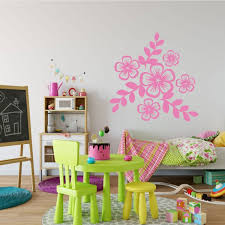Floral Vinyl Wall Decals Vinyl Decor Wall Decal Customvinyldecor Com