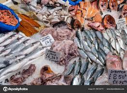 Fish Seafood Sale Market London ...