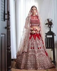 where to find bridal lehengas under 50k