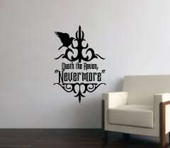 The Raven Nevermore Vinyl Wall Decal 22203 On Luulla