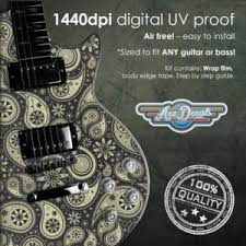 Axedecals Com Custom Guitar Stickers Decals Skins And Wraps