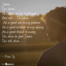 jaanu i m dead quotes writings by prem tej