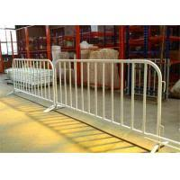 Construction Galvanized Crowd Control Barrier For Outdoor Events Barricade Fence Of Steeltemporaryfencing