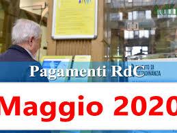 Reddito di cittadinanza pagamento Maggio 2020 ricarica RdC