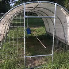 10 X 10 Pastured Hoop Design No Welding Required Pastured Life Farm