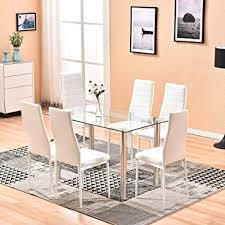 4homart dining table with chairs