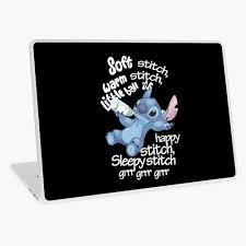 Soft Kitty Stitch Laptop Skin By Moopig0302 Redbubble