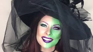 put makeup on for a witch costume