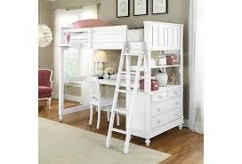 Ne Kids Lake House Full Loft Bed With Desk And Dresser Westrich Furniture Appliances Loft Beds