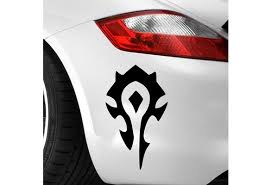 Horde Wow World Of Warcraft Game Decal Sticker Vinyl Vehicle Car Wall Laptop 2 Colors Wish