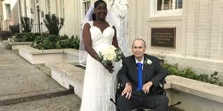 hoe patient receives dream wedding