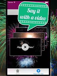 video greetings new year on the app store