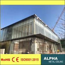 gl curtain wall clading panel