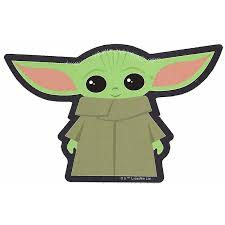 Disney Window Decal Star Wars Baby Yoda Standing
