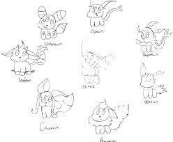 Pokemon Coloring Pages Espeon At Getdrawings Free Download