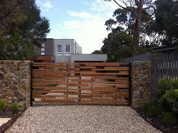 Entrance Gates Modern Driveway Front Gate Design Wooden Gates Driveway